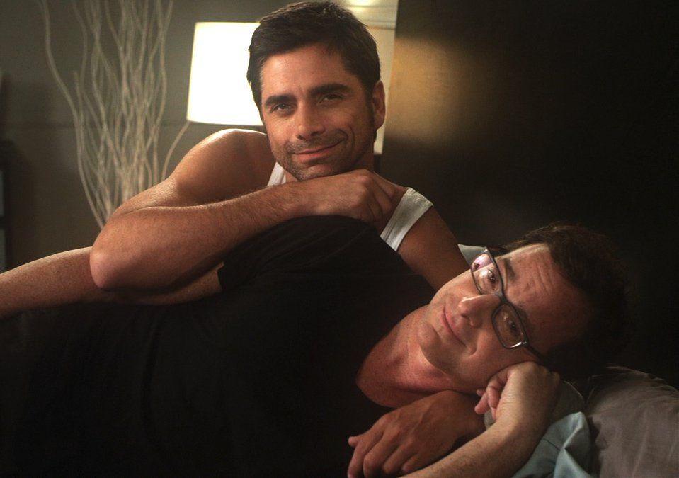 well built muscular guys cuddling